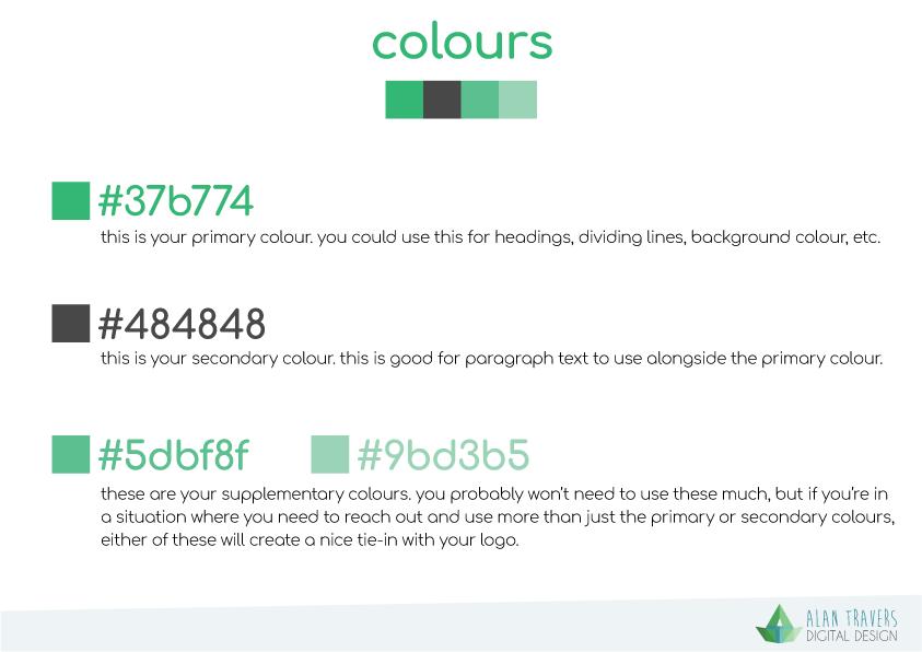 iDonate Logo Guidelines - Colours