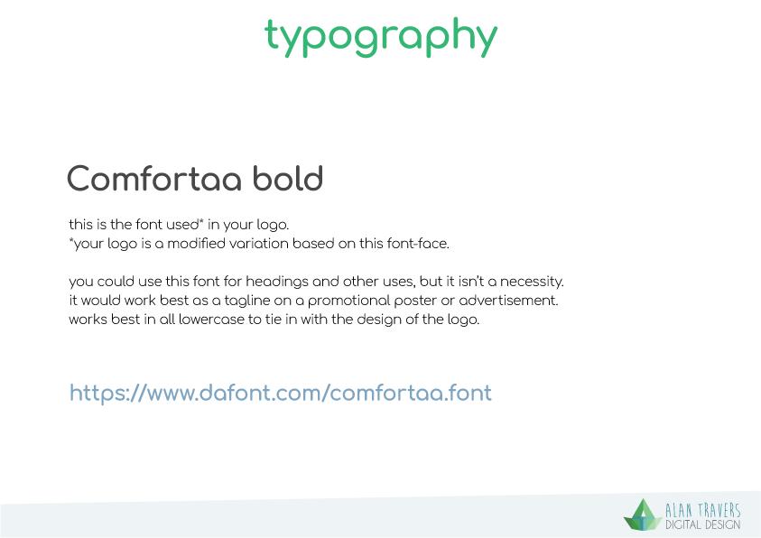 iDonate Logo Guidelines - Typography