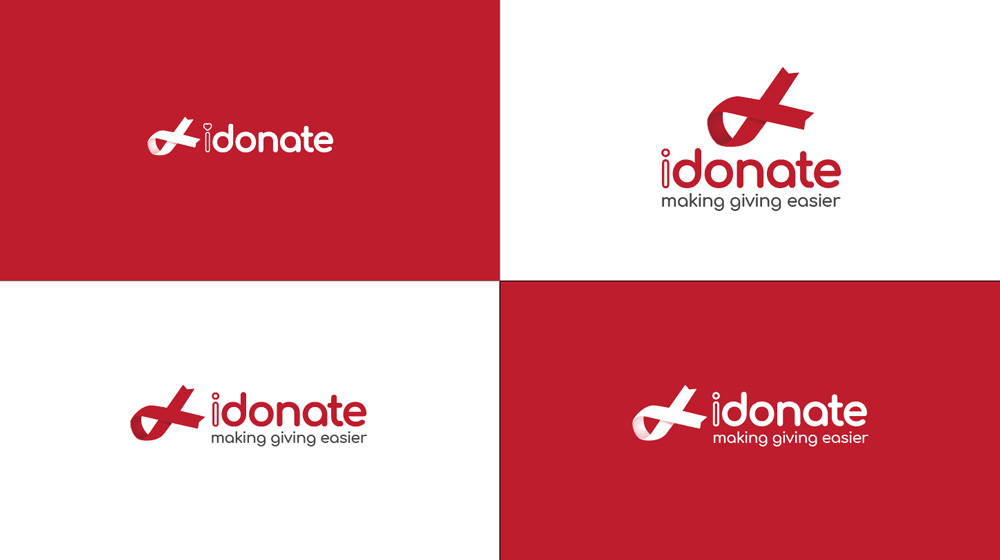 idonate Logo Redesign - Early Concepts