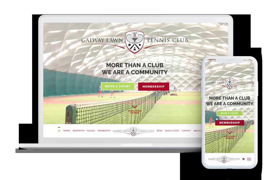 Galway Lawn Tennis Club Web Design