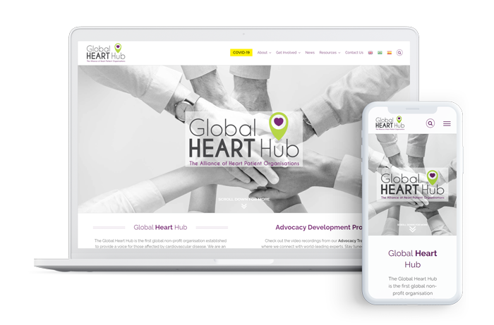 Your Health Page Design Croi