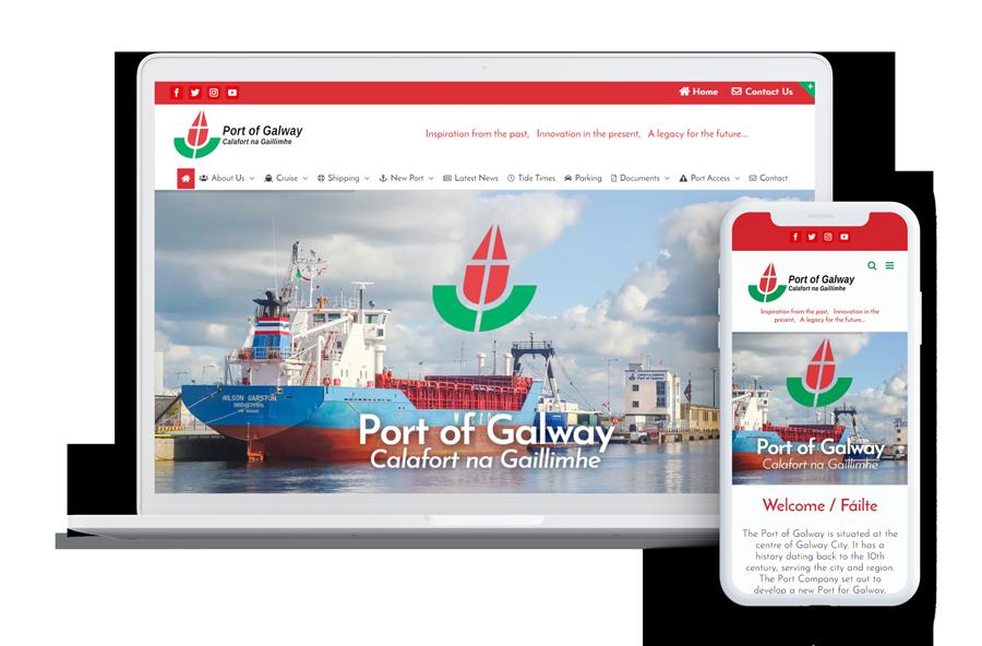 Port of Galway UI Design