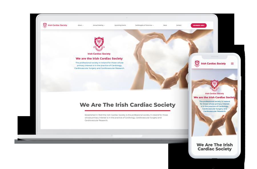 Irish Cardiac Society Web Design
