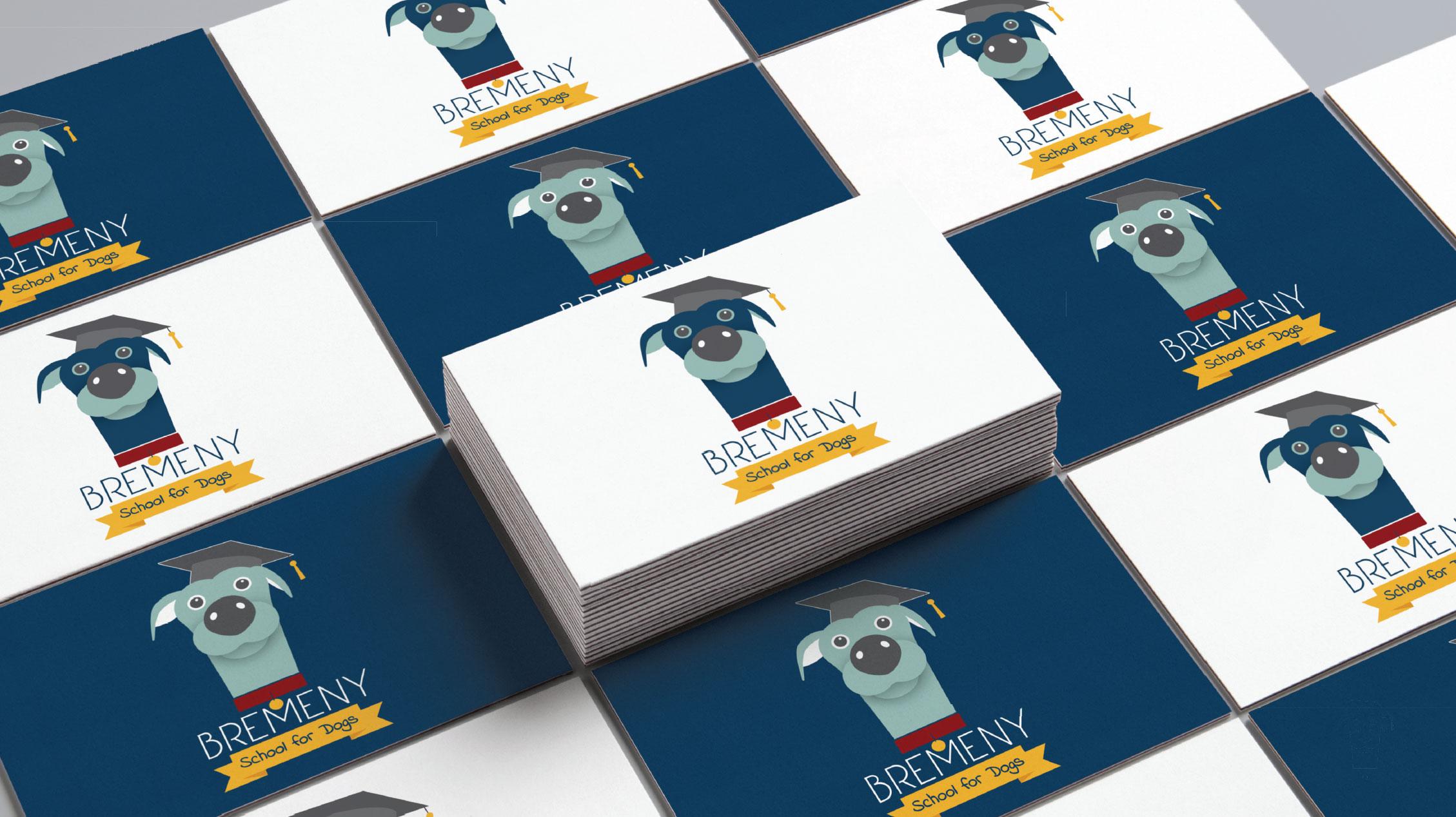 Bremeny School for Dogs Logo Design