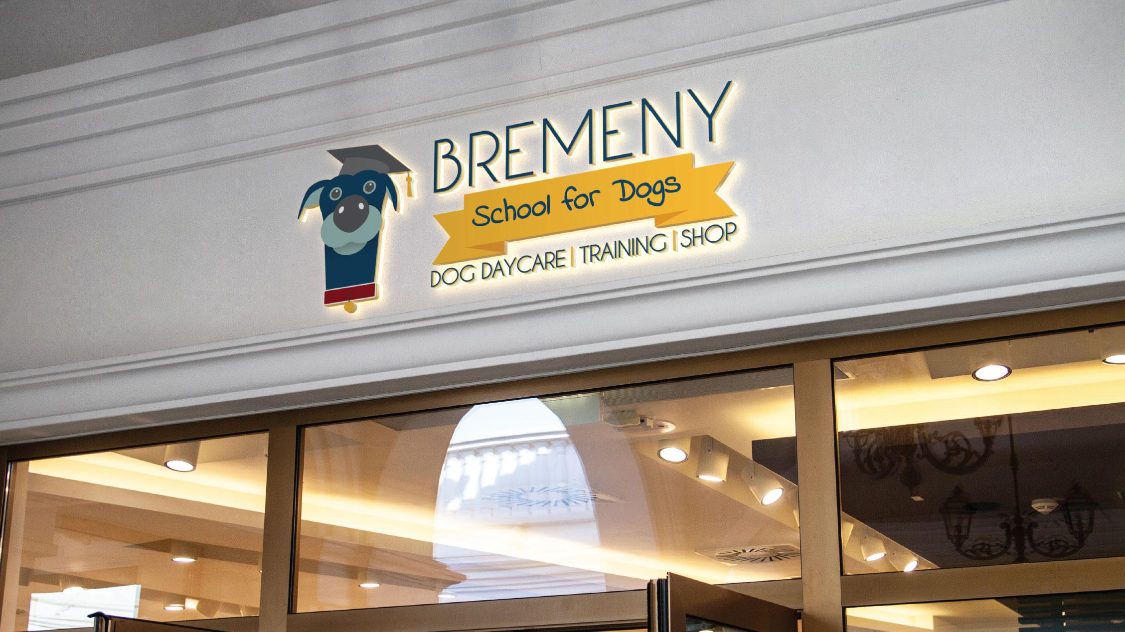 Bremeny School for Dogs Brand Design