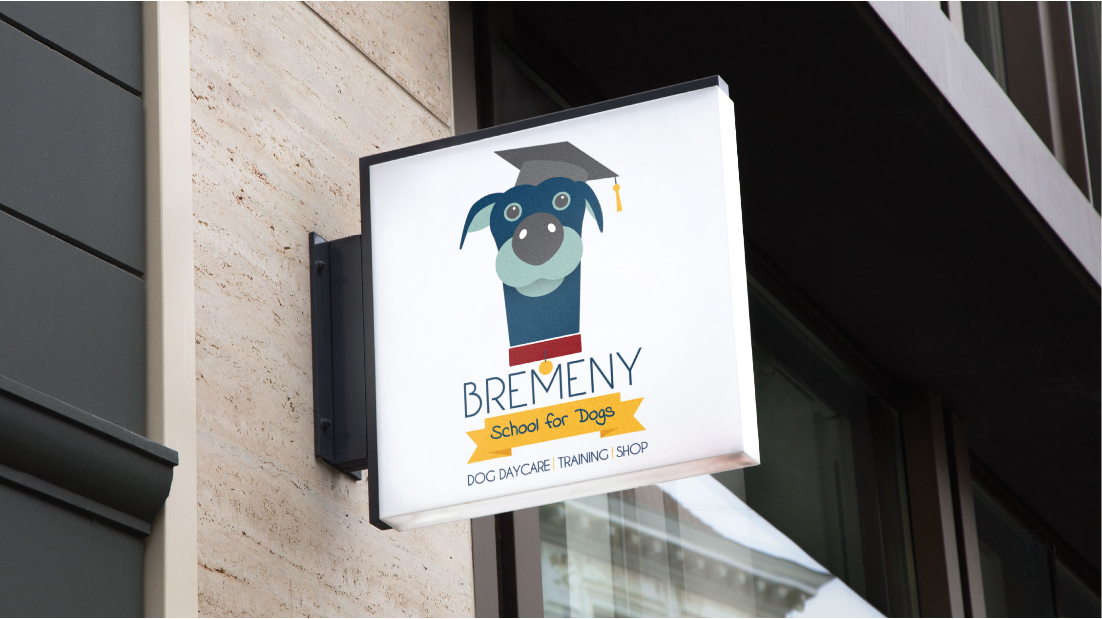 Bremeny School for Dogs Brand Design Galway