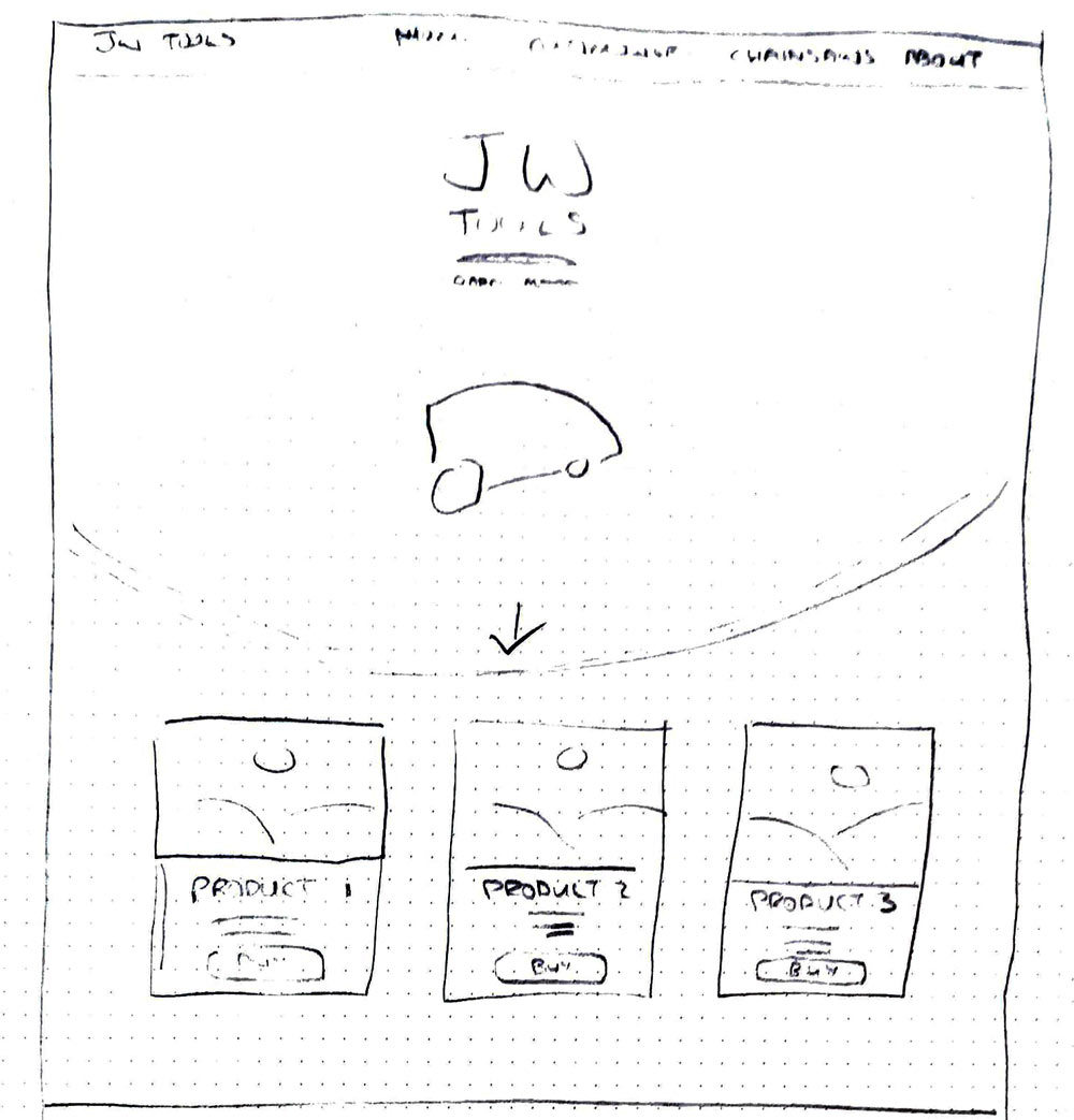 JW Tools Design Sketches