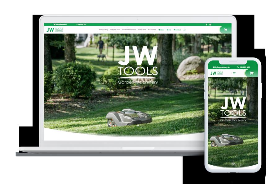 JW Tools UX UI Design